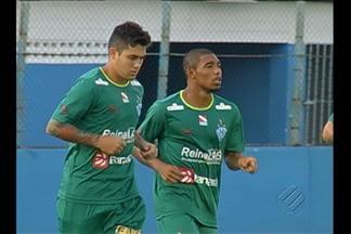 Paysandu treina apenas uma vez para enfrentar o Icasa - Time terá a volta de Eduardo Ramos, que cumpriu suspensão.