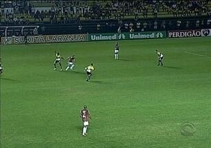 Criciúma vence do Atlético-PR e sai da zona de rebaixamento da Série A - Criciúma vence do Atlético-PR e sai da zona de rebaixamento da Série A