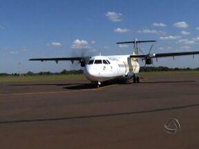 Aeroporto de Dourados aumenta números de voos - Quantidades de voos diários no Aeroporto Municipal de Dourados passou de dois para quatro.