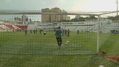 Ponte Preta faz o primeiro jogo da semifinal da Sul-Americana contra o São Paulo - Ponte Preta faz o primeiro jogo da semifinal da Sul-Americana contra o São Paulo. O jogo acontece na capital.