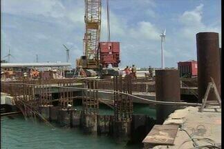 Portos cearenses têm aumento na movimentação de cargas - Maior parte das cargas dos portos cearenses são importadas.