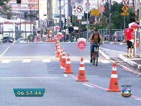 Prefeitura coloca em funcionamento as ciclofaixas da capital - Os ciclistas poderão aproveitar o feriado em comemoração ao Dia da Consciência Negra para pedalar nas ciclofaixas que irão funcionar nesta quarta-feira (20) das 7hs às 16hs.