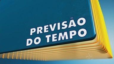Confira a previsão do tempo para o Amazonas - Os dados são do Sipam.