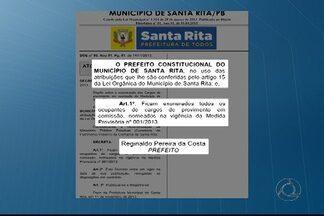 Exonerados 500 servidores em Santa Rita, na Paraíba - Segundo a Prefeitura, as exonerações atendem a uma recomendação do Ministério Público.