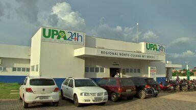 Pacientes reclamam de atendimento em unidade de saúde em Cuiabá - Pacientes reclamam do atendimento na UPA da Morada do Ouro, em Cuiabá.