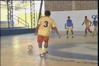 Copa TV Verdes Mares de Futsal anima os moradores dos municípios participantes - Jogadores demonstram empolgação para participar desta competição.