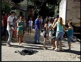 Motociclista morre em cruzamento de Governador Valadares - Acidente aconteceu nesta tarde em um cruzamento no Bairro São Pedro.