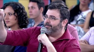 Flávio fala sobre a experiência de ter um filho com síndrome de down - Ele passou a criar tirinhas para contar o dia a dia do menino