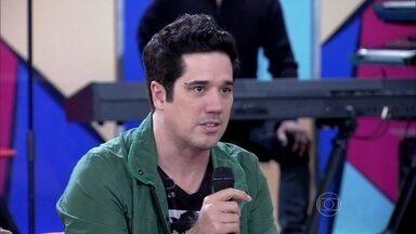 A banda Jota Quest fala sobre o show no Rock in Rio - Os músicos falam sobre a concentração antes da apresentação