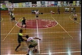 Time de Carazinho, RS, está na decisão da Taça RBS de Futsal - A partida foi decidida em um jogo de 11 gols.
