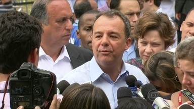 Governador Sérgio Cabral admite deixar cargo para disputar vaga no Senado - Pela primeira vez, o governador Sérgio Cabral admitiu a possibilidade de deixar o governo em 2014 e concorrer ao Senado.