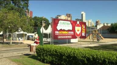 Feira Gastronômica de Natal do Juvevê começa hoje - São 16 restaurantes dos bairros Juvevê e Cabral, reunidos na Praça Brigadeiro Mário Eppinghauss.