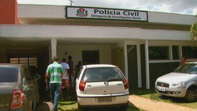 Dupla suspeita de integrar 'gangue da marcha ré' é presa em São Carlos, SP - Dupla suspeita de integrar 'gangue da marcha ré' é presa em São Carlos, SP.