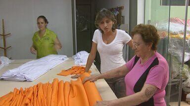 Compras de fim de ano aquecem o setor de confecções em São Carlos, SP - Compras de fim de ano aquecem o setor de confecções em São Carlos, SP.