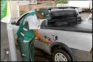 Postos de combustíveis em Montes Claros permanecem sem reajuste de preço - Motoristas aproveitam os preços.