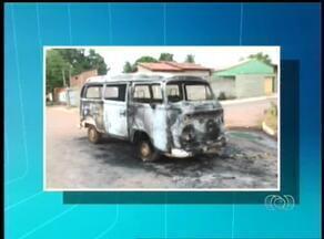Carros são queimados na região norte de Palmas - Carros são queimados na região norte de Palmas