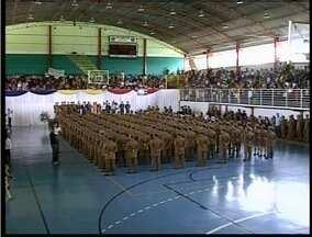 152 novos sargentos vão reforçar a segurança em Governador Valadares - Formatura foi nesta quinta-feira (5).