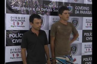 Morte de massagista em CG - A polícia prendeu dois homens acusados de matar o massagista Wilton Araújo Lima, em Campina Grande.