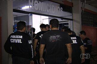 Dívida de R$ 300 motivou a morte de seis pessoas em Goiânia, diz polícia - Briga entre gangues rivais, iniciada há 1 ano, resultou em série de crimes. Seis suspeitos foram detidos na Vila Monticelli e no Setor Criméia Leste.