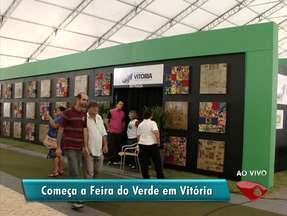 Nova edição da 'Feira do Verde' começa em Vitória - Evento começou nesta quarta-feira (11).