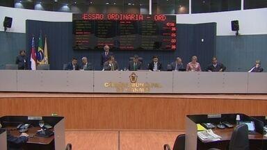 Lei Orçamentária de 2014 é votada na Câmara Municipal de Manaus - Votação da lei e do Plano Plurianual ocorreu no plenário da CMM; a Prefeitura deve promover a publicação no Diário Oficial até o fim de dezembro.