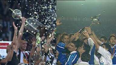 Cruzeiro e Atlético-MG participam da Libertadores juntos pela primeira vez - Cruzeiro é bicampeão e o Galo é o atual vencedor
