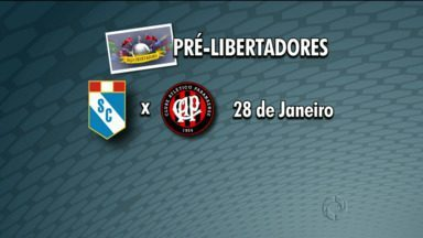 Sporting Cristal, do Peru, é o primeiro obstáculo do Atlético na Libertadores - A primeira partida está marcada para o dia 28 de janeiro em Lima, no Peru. O jogo de volta, em Curitiba, está confirmado para o dia 4 de fevereiro. Mas hoje a luta do Atlético é fora de campo STJD.