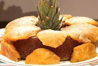 Bolo de abacaxi - Aproveite o abacaxi para preparar um bolo bem gostoso e simples. Para imprimir a lista dos ingredientes e o modo de preparo, acesse o site www.tvtem.com/nossocampo