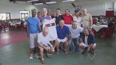 Portuguesa Santista completa 96 anos e reúne ex-jogadores - Todo ano o encontro vira acontecimento