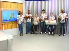 Grupo de Samba 'Conexão Rio-Uruguaiana' participa do Jornal do Almoço - Eles lançam o primeiro CD.