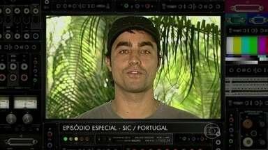 Episódio Especial! Veja Ricardo Pereira em programa europeu - Ator revê programa que apresentava em Portugal