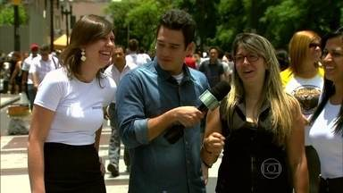 Marcos Veras vai às ruas saber o que acontece na 'festa da firma' - Paulistas falam o que não pode fazer na frente do chefe