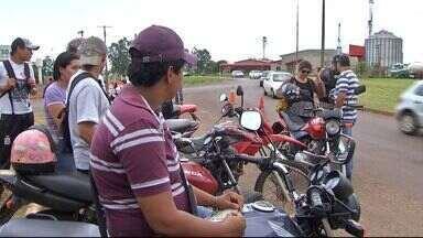 PRF faz ação para conscientizar motociclistas para utilização dos itens de segurança - Somente neste ano foram registrados em MS, sendo mais de 500 acidentes envolvendo motociclistas