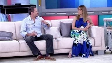Dan Stulbach sobre superstições: 'Tudo que sei eu fiz' - Ator e Ana Furtado contam como passaram a virada