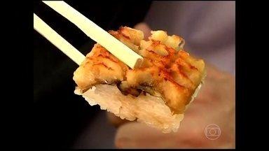 Comida japonesa se torna patrimônio imaterial da humanidade - Os ingredientes são sempre frescos. Os pratos se relacionam com as estações do ano, com as celebrações. A comida japonesa se tornou patrimônio imaterial da humanidade.