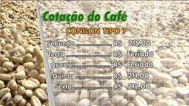 Confira a cotação do café - Informações são do Centro do Comércio de Café de Vitória (CCCV).