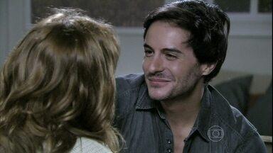 Thales promete surpreender Natasha - O escritor afirma que a irmã de Nicole terá a prova de amor que sempre quis