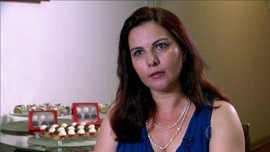 Com planejamento, bibliotecária acerta na venda de doces - Simone ouviu as dicas do economista Samy Dana para estruturar negócio