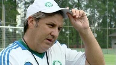 Gilson Kleina comemora início de 2014 no Palmeiras: 'Bom para mim e para o clube' - Negociação da renovação com treinador foi novela e Kleina quer fazer valer a confiança da diretoria já no Paulistão.