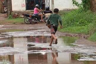 Em Bacabal, período é de chuva e também de ficar mais atento para doenças - Leptospirose, doença transmitida pelo rato, é uma delas.