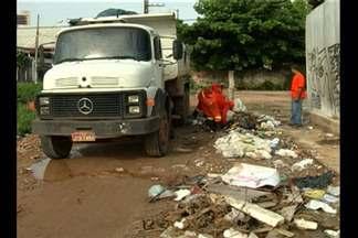 Sesan aumenta fiscalização para evitar acúmulo de lixo e entulho nos canais de Belém - A medida é para reduzir os alagamentos que ocorrem principalmente no período chuvoso na capital.