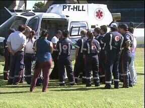 Médicos e profissionais do Samu fazem treinamento para trabalhar de helicóptero - Atendimento já começa nesta quarta-feira (20).