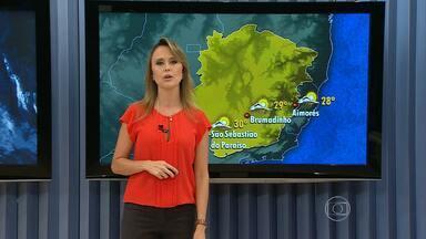 Previsão é de pancada forte de chuva em Belo Horizonte - Também chove em boa parte do estado.