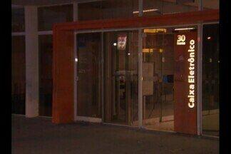 Banco é arrombado pela terceira vez em Campina Grande - Agência de banco particular fica na Avenida Canal.