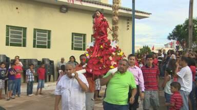 Termina festejos de São Sebastião em Porto Velho - Comunidade está localizado do lado esquerdo do Rio Madeira.