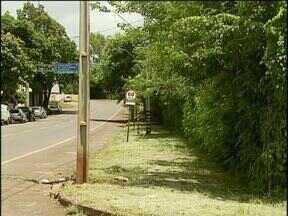 Prefeitura corta mato de calçada alvo de reclamação de moradora - Para também sugerir uma reportagem, você pode ligar para (45) 3219-8000.