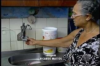 Falta de água causa transtornos em bairros de Petrolina - Segundo moradores dos bairros Terras do Sul e Vila Eduardo falta água quase todos os dias