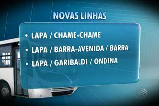 Prefeitura altera parte das linhas que passam pela Barra, em Salvador - Objetivo, segundo a prefeitura, é melhorar o tempo de espera dos passageiros, que poderão pegar dois ônibus com o bilhete único.