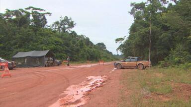 Moradores de Humaitá querem construir posto fixo da PRF - PRF informou que população não tem autonomia para construir às margens da rodovia