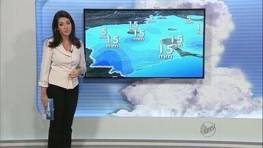 Veja a previsão do tempo para a região de Ribeirão Preto - Sol predomina, mas pancadas isoladas de chuva podem ocorrer.